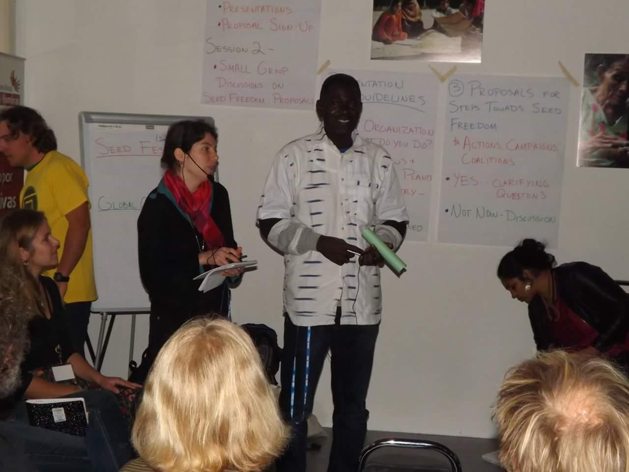 Ali Tapsoba De Goamma, Terre à Vie, Burkina Faso